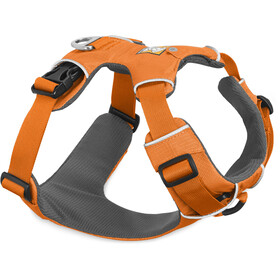 Ruffwear Front Range Harnas, Orange Poppy